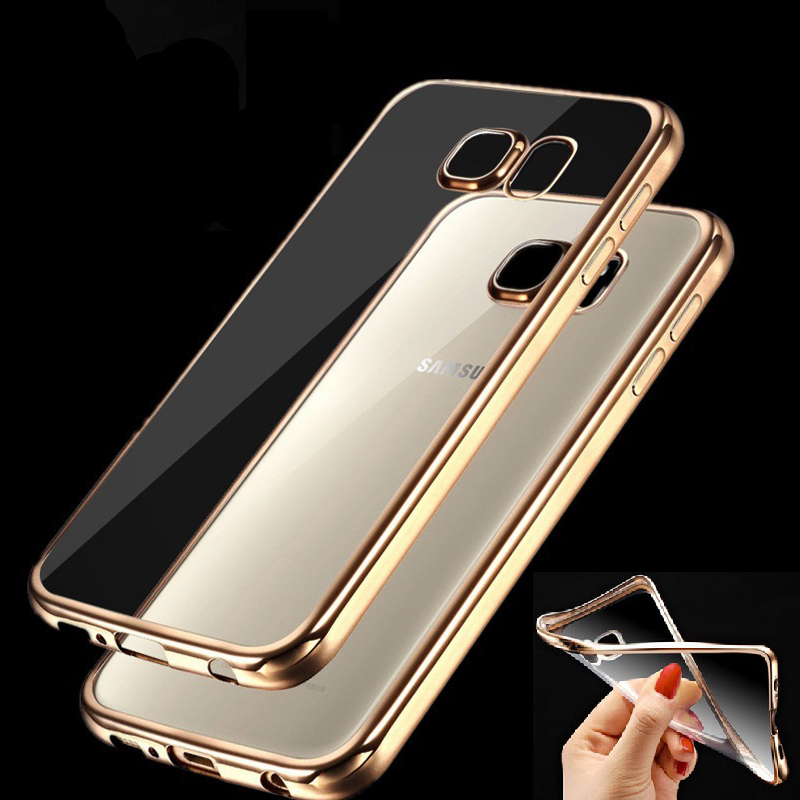 Case for Samsung Galaxy J5 J7 2015 A3 A5 A7 2016 Grand Prime S5 S6 S7 Edge Fashion Luxury High Quality Plating Design Cover(China (Mainland))