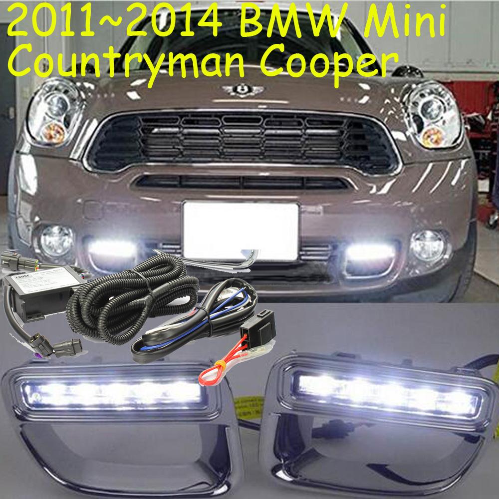 2011~2014 Mini countryman daytime light,Mini fog light,2pcs/set+wire harness,countryman,Silver color,10W 9~18V,Free ship!Mini - NoBonn Autoparts lighting Co;Ltd store