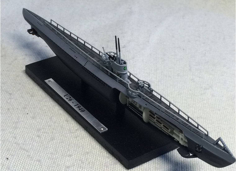 1/350 Finished Static state WWII German Navy submarine U26 ship model with Sectional structure(China (Mainland))