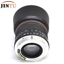 Buy JINTU 85mm AUTO Focus Confirm Chip f/1.8 Portrait Mark II Lens Canon 50D 5D III 750D 700D 650D 600D 70D 60D 5D II III 7D II for $225.00 in AliExpress store