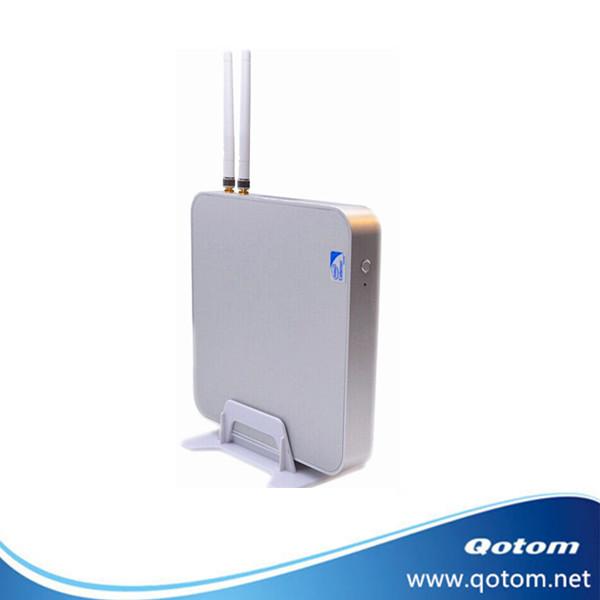Special offer htpc case Qotom-i37P intel 1037U mini pc win 7 2G ram 256G SSD and 300M wifi  VGA VESA RJ-45 pc home pc minipc<br><br>Aliexpress