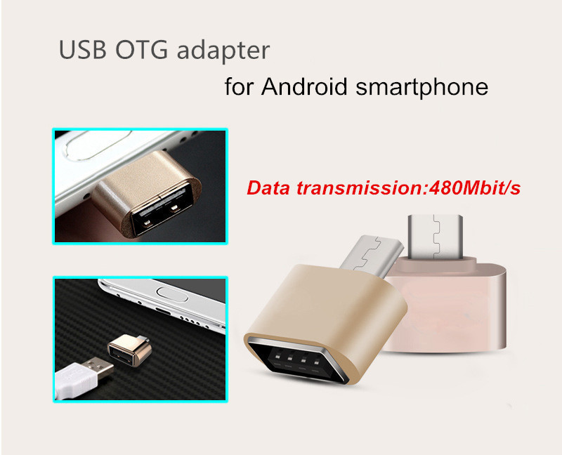 Micro USB OTG Adapter 2.0 Converter for Android Samsung Galaxy for Huawei to Tablet Pc to U Disk Mouse Keyboard Camera MID(China (Mainland))