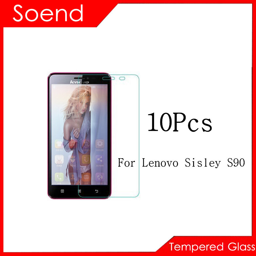 10Pcs/Lot Tempered Glass Screen Protector For Lenovo Sisley S90 Protection Cover Protective Guard Film 2