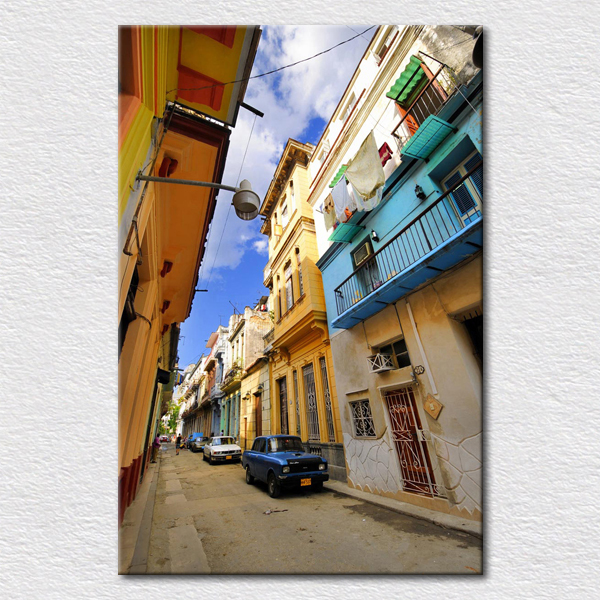 Quality Canvas print amazing Travel Photos painting from Perfectly and fine Greece Miklos town as gift for friend free shipping(China (Mainland))