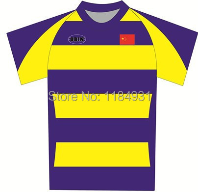 Special In Sublimation Rugby Jersey/Customized Design Rugby Jersey/Free Shipping(China (Mainland))