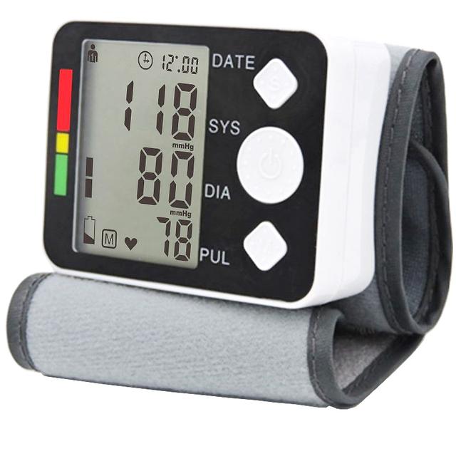 2017 Цифровой вист измеритель артериального давления монитор Тонометр портативный Автоматический Тонометр для измерения главная здравоохранения