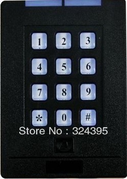 Access Controller Door Security System RFID Keypad Door Timing Controller + 5pcs thin cards + 2pcs NFC Tags