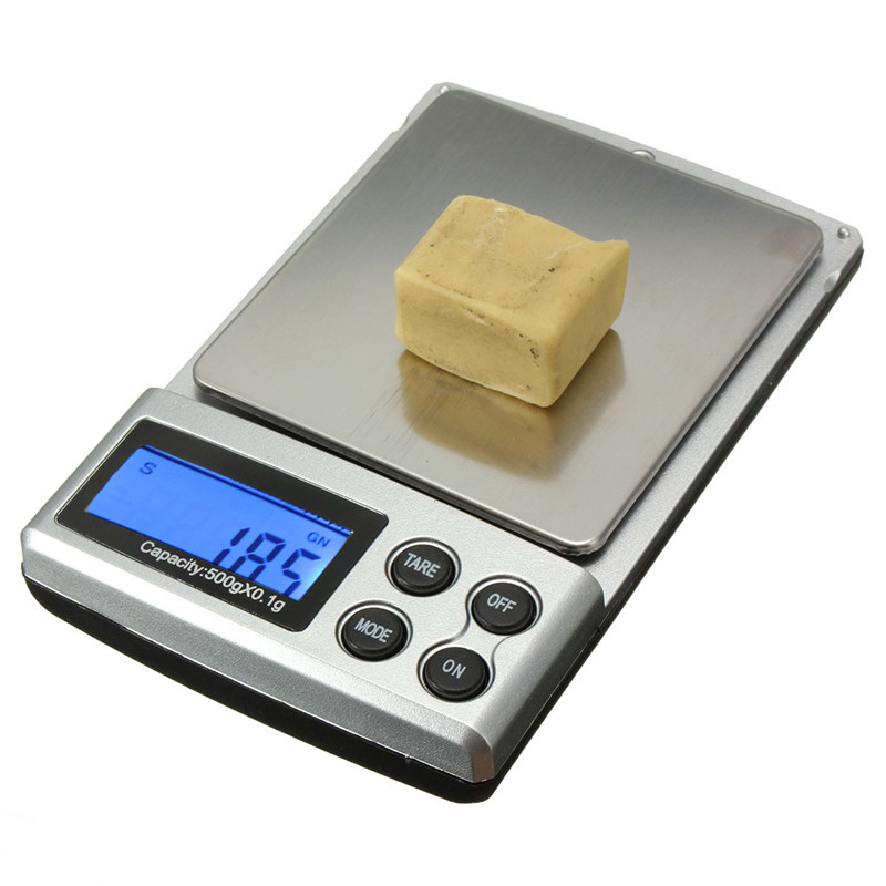 500g x 0.1g Mini LCD Precision Digital Scale for Gold 0.1g Gold Units for Pocket Electronic Jewelry Weight Balance Scales(China (Mainland))