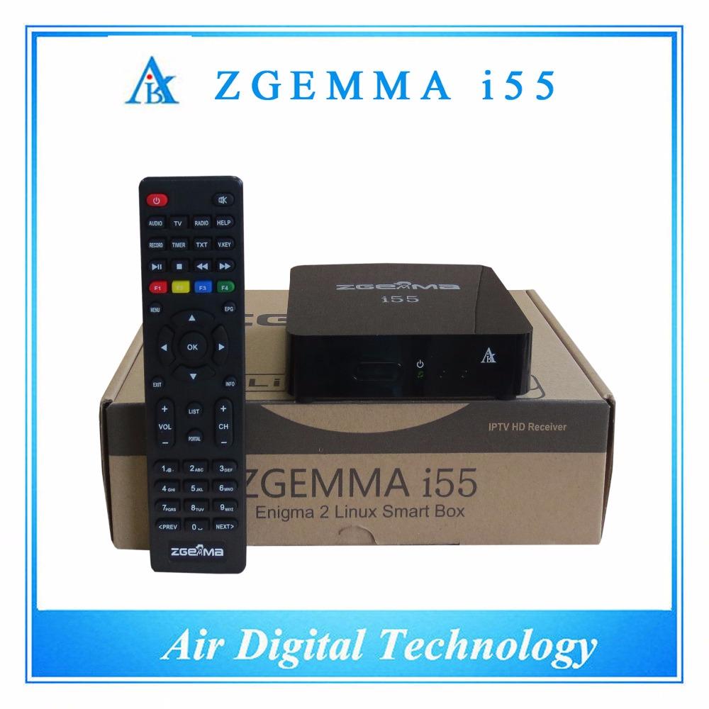 2 pcs/lot Linux IPTV worldwide internet tv box ZGEMMA i55 (without account)(China (Mainland))