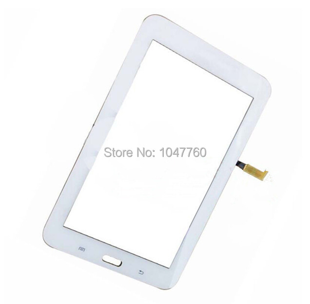for samsung galaxy tab 3 lite 7 0 t110 sm t110 wifi white touch screen digitizer glass lens. Black Bedroom Furniture Sets. Home Design Ideas