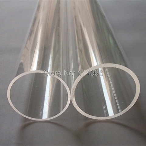 (160/154) OD160x3x1000mm Acrylic Tube Clear Building Decoration Plexiglass PMMA Transparent Pipes Can Custom Any Diameter(China (Mainland))