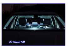 Buy Parking City LED Interior Light Kit Xenon white Peugeot RCZ,Car LED Front+Footwell+Reading+Glove+Door+Trunk Light for $16.50 in AliExpress store