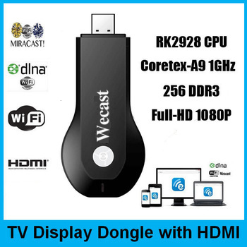 Tv Stick HDMI Full HD 1080P Miracast Airplay DLNA Wifi Dongle for IOS / Android phone Tablet better than chromecast(China (Mainland))