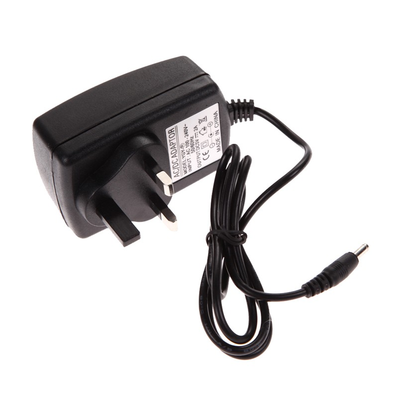 Power adapter switch supply For AC 100-240V Converter Adapter DC 3.5 x 1.35MM 5V 2A 2000mA Charger UK Plug