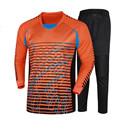 2017 Hot Sale New Brand Men s Soccer Goalkeeper Jersey Football Sets Goal Keeper Uniforms Suit