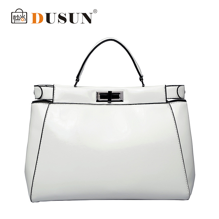DUSUN 2015 New Arrive Women Handbags Genuine Leather Designer Brand Bags Fashion Messenger Shoulder sac