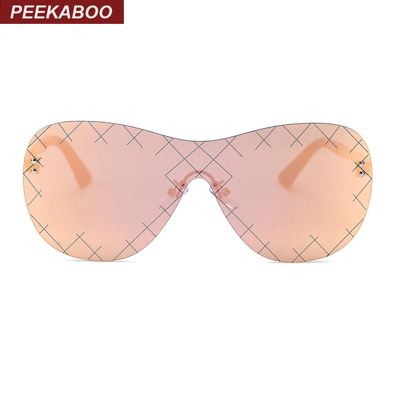 New fashion sun glasses women 2016 brand luxury big one piece summer cool shades sunglasses male mirror pink uv400 sonnenbrille(China (Mainland))