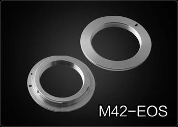 Hot sell NEW  M42 Lens to Canon EOS Adapter 550D 50D 5D II 7D 1D IV