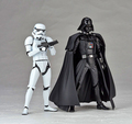 Star Wars Revoltech Darth Vader 001 Stormtrooper 002 PVC Action Figures Collectible Model Toys Star Wars