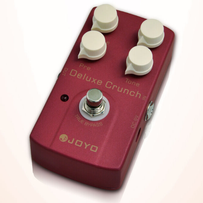 JOYO JF-39 Deluxe Crunch Electric Guitarra Violao Guitar Effect Distortion Pedal True Bypass Design Hot free power supply<br><br>Aliexpress