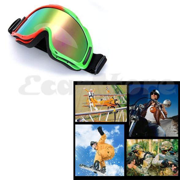 Bicolor Glasses Glasses Goggle Bicolor