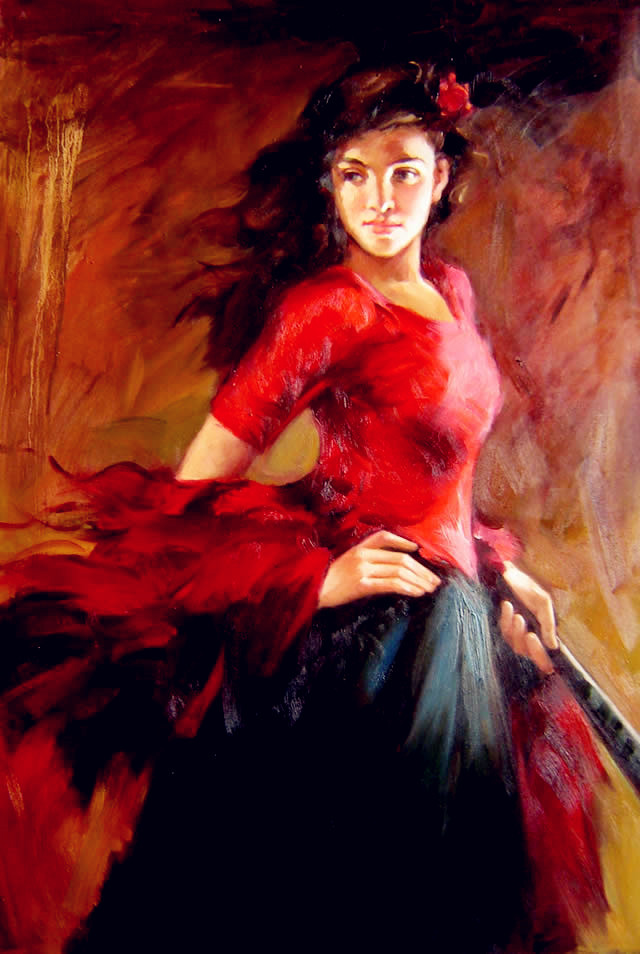 Flamenco Impressionist Reproduction Oil Paintings