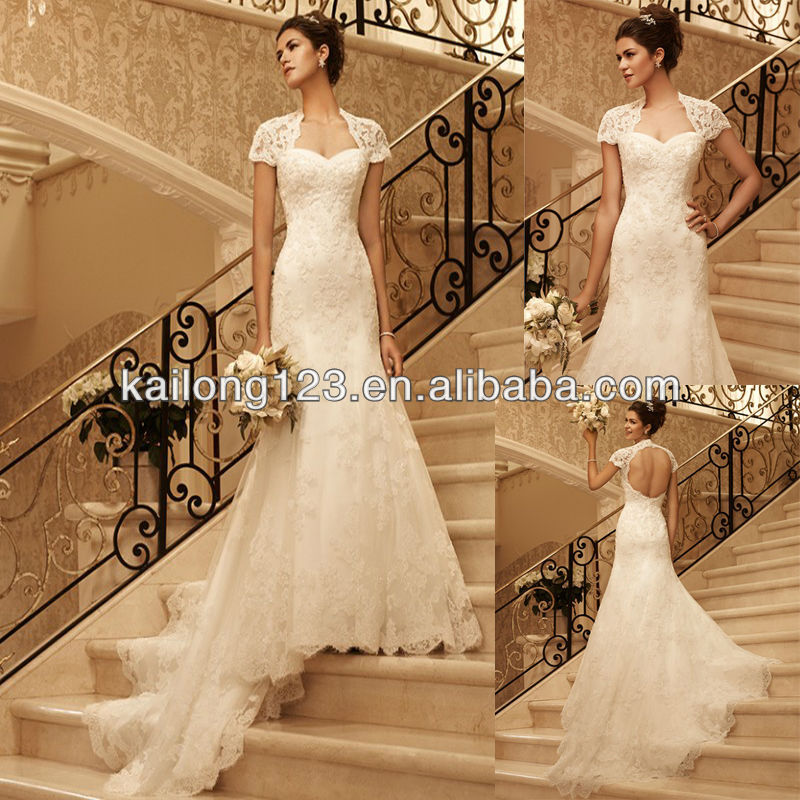 Buy fitted sweetheart fit and flare for Lace fitted wedding dress