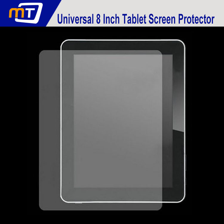 Universal 8 inch Screen Protector Guard LCD Protective Film Inch Tablet / MID GPS MP4 /PDA - Shenzhen Mechanician Electrics Technology Co., Ltd. store