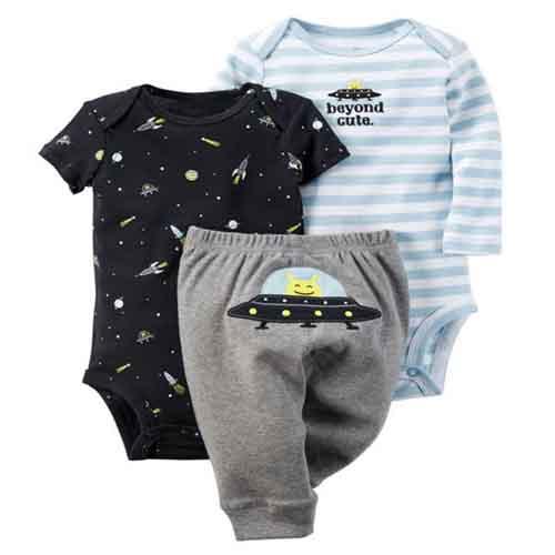 kids Baby Girls Bodysuits set ,newborn roupas de bebes baby girl Short & Long Sleeve Bodysuit , girl spring and autumn wear(China (Mainland))
