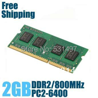 Brand New Sealed DDR2 800 / PC2 6400 2GB Laptop RAM Memory / Lifetime warranty / Free Shipping!!!(China (Mainland))