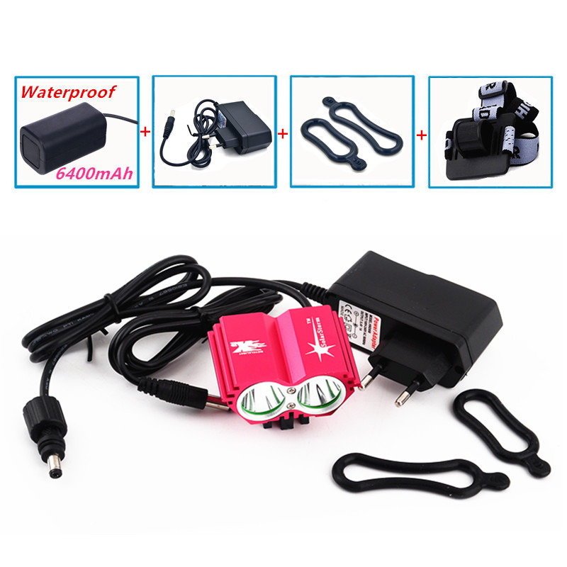 Hot Selling 5000 Lumen XM-L U2 LED Bicycle Light Bike Cycling Waterpoof Front  -  Hikingstar store