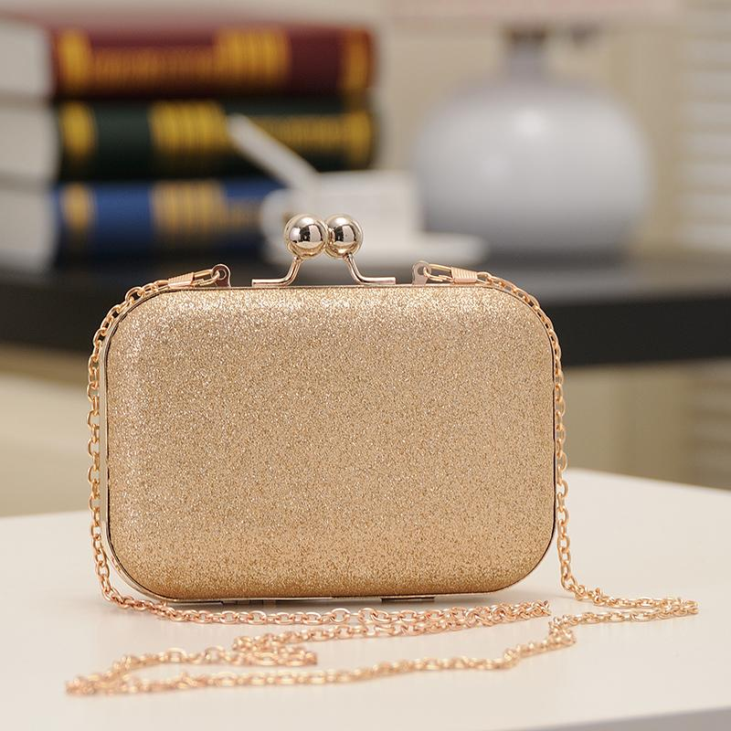 2013 women's handbag mini bag clip bag small messenger bag evening bag chain small bags clutch messenger bag
