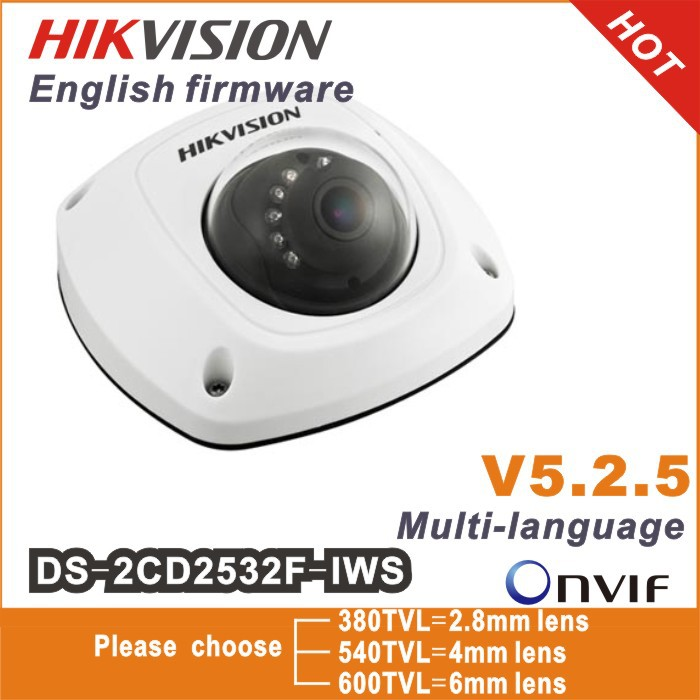 2014 New Hikvision dome camera DS-2CD2532F-I S W, audio,Wifi ,3MP Mini dome,Up to 10m IR Network camera,DS-2CD2532F-IWS(China (Mainland))