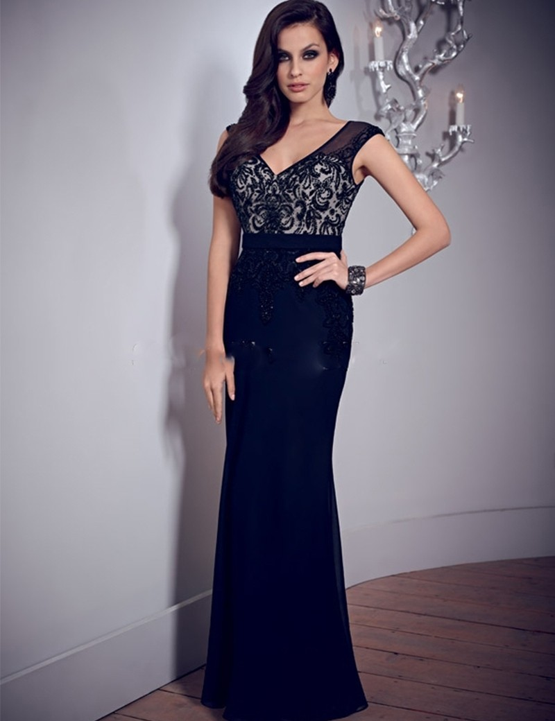 Online Buy Wholesale long simple evening dress from China long ...