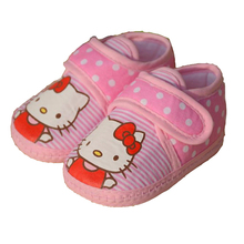 2016 New Baby Girl Shoes First Walker Infant Newborn Sneakers Baby Cotton Soft Hell o Moccasins Children Shoes Kids 501