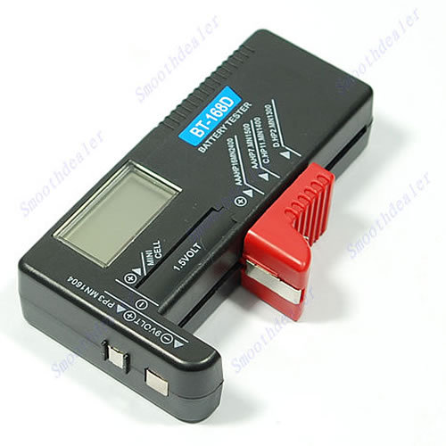 Free Shipping Digital Battery Tester Checker for 1 5V and AA AAA Cell dropshipping PY