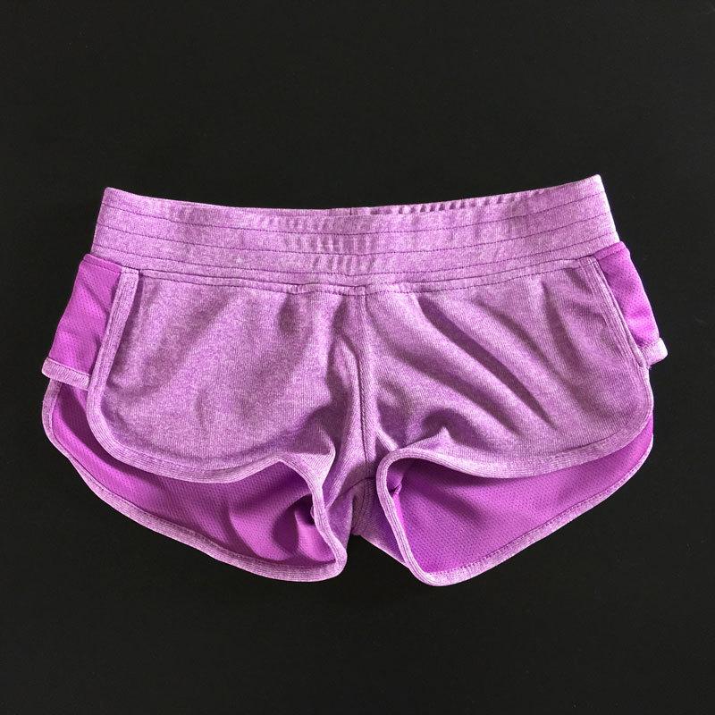2016 Fashion Women Sports Shorts Yoga Fitness Running Short Pants Workout Elastic Short Pants Female Shorts 7 Colors<br><br>Aliexpress