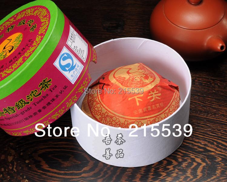 [GRANDNESS] 2013 yr Yunnan Xiaguan Special-grade Tuocha Tea Premium Pu-erh Tea Raw Sheng TuoCha Puer Tea 100g with nice box<br>