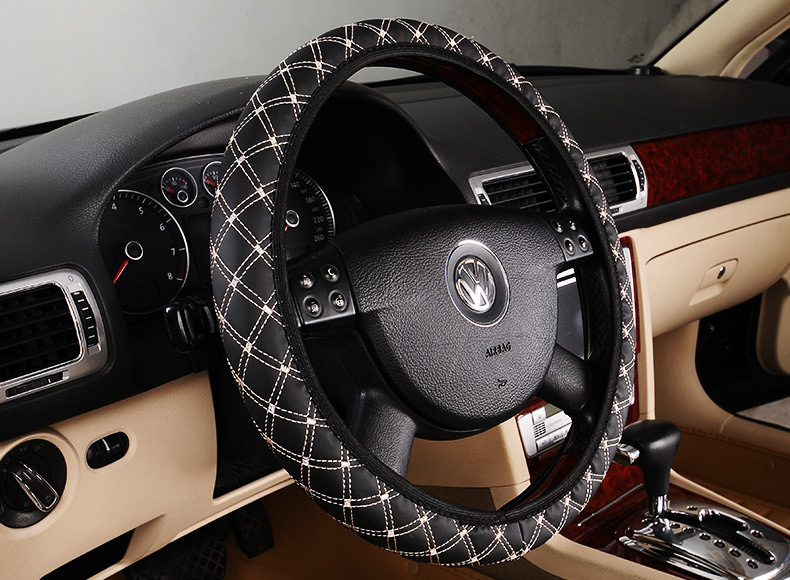 Winter plush car styling Car steering wheel cover wi
