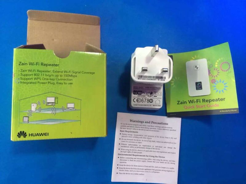 Brand New Huawei WS320 Wireless WiFi Signal Repeater 3G WiFi Repeater(China (Mainland))