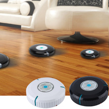 9 inch Wireless Home Robotic Smart Auto Cleaner Robot with Microfiber Tissue Remove Dust Cleaning Helper New(China (Mainland))