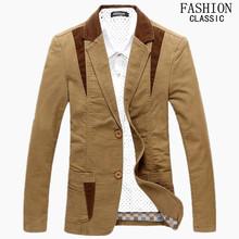 Casual Suits Men 2016 Spring Autumn New Fashion Casual Slim Suit Men Dress Suits Jacket Blazer 3 Colors Plus Size M-4XL