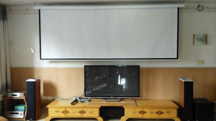 150 inch motorized screen pic 16