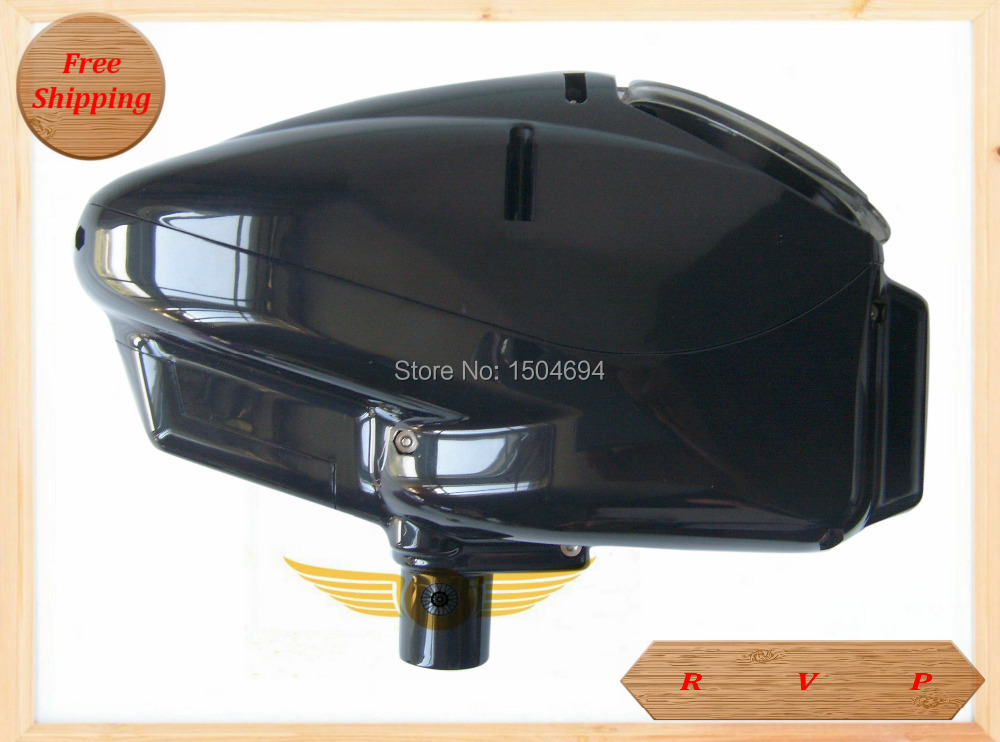 Popuplar Paintball Hopper 180 Rounds Electronic Paintball Loader_BLACK(China (Mainland))