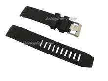 20mm high quality black silicone rubber curved end watch band strap for OMEGAwatch