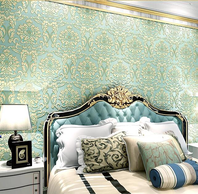 Buy modern luxury mosaic mural wallpaper 3d embossed for Buy mural wallpaper