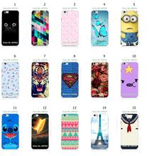 Mobile Phone Case Retail 1pc Cat Minions Hybrid Protective White Hard Case Cover For iphone 6 Free Shipping