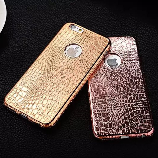 """New ! Luxury Crocodile Snake Print Plating Case For iPhone 6 6s 4.7"""" / Plus 5.5"""" / 5 5S SE Ultra Thin TPU Soft phone Back Cover(China (Mainland))"""