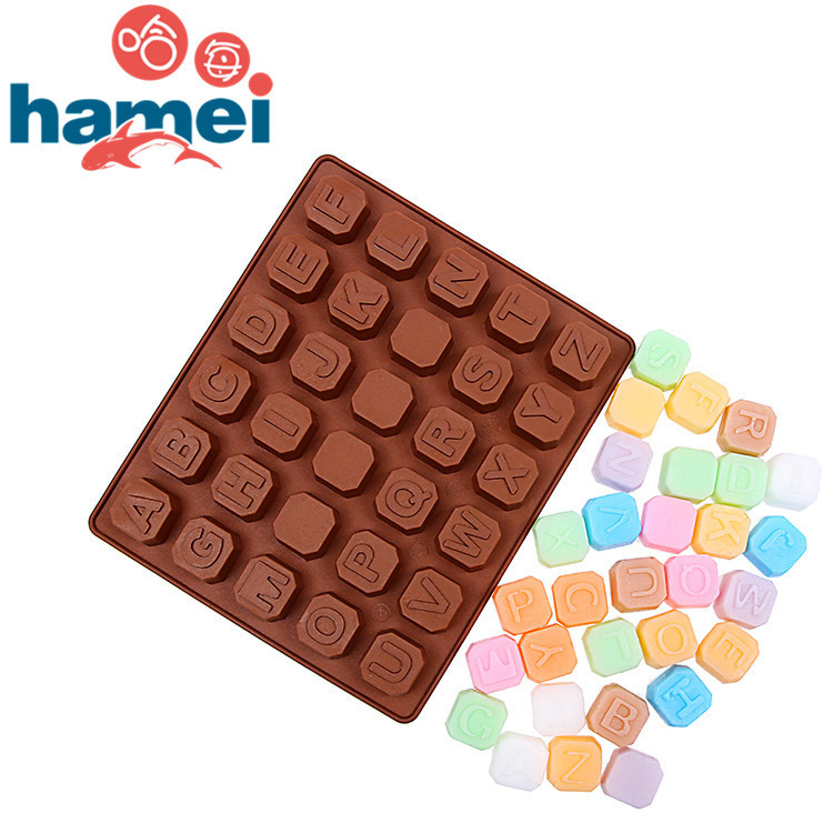 26 English letters +4 Whiteboard DIY chocolate Handmade Soap for ice cream cube frozen tools silicone tray(China (Mainland))