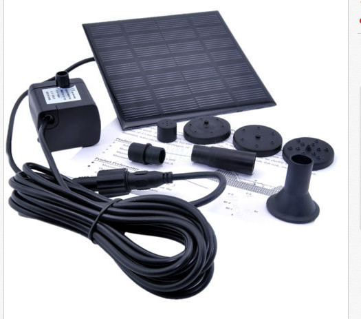 2015 New solar Water Pump Power Panel Kit Fountain Pool Garden Pond Submersible Watering(China (Mainland))